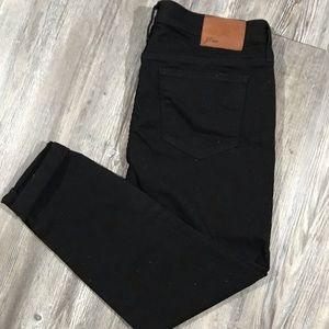 jcrew toothpick blank jeans